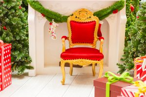 Santa Thrones and Christmas Tree Decorating Services